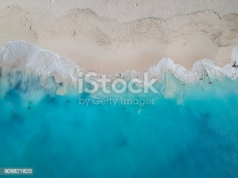 istock Drone photo Grace Bay, Providenciales, Turks and Caicos 909821820