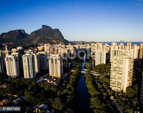 istock Drone photo of Barra da Tijuca, Rio de Janeiro, Brazil. 915947434