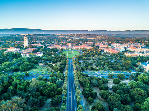 istock Drone view of Stanford University 905401334