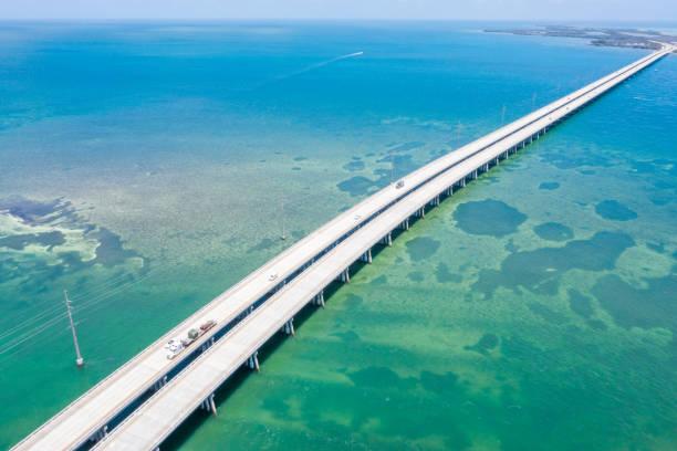 Drohnenansicht der Florida Keys, USA – Foto