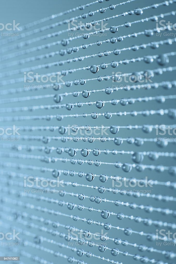 Drop lines royalty-free stock photo
