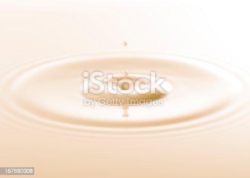 istock Drop of milk 157592008
