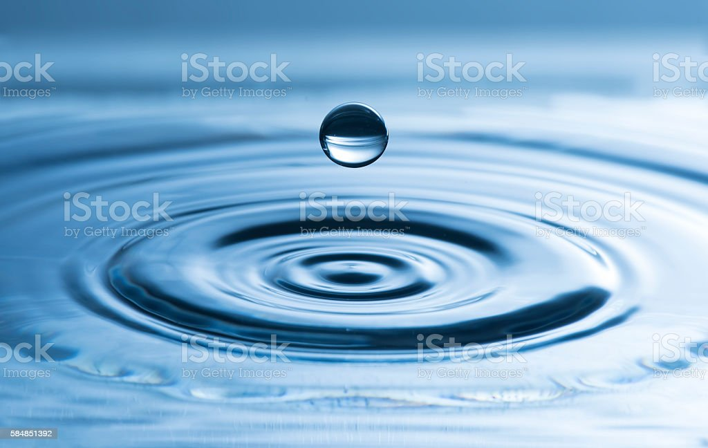 drop splash stock photo