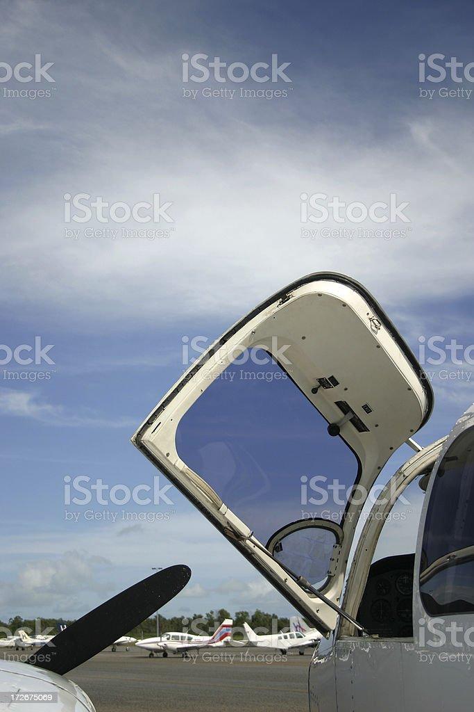drop the pilot royalty-free stock photo