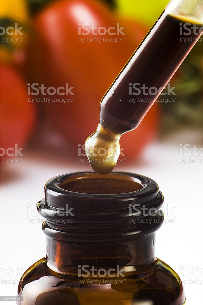 droplet - Royalty-free Bottle Stock Photo