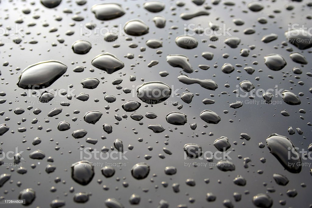 Droplets Background / Abstract royalty-free stock photo