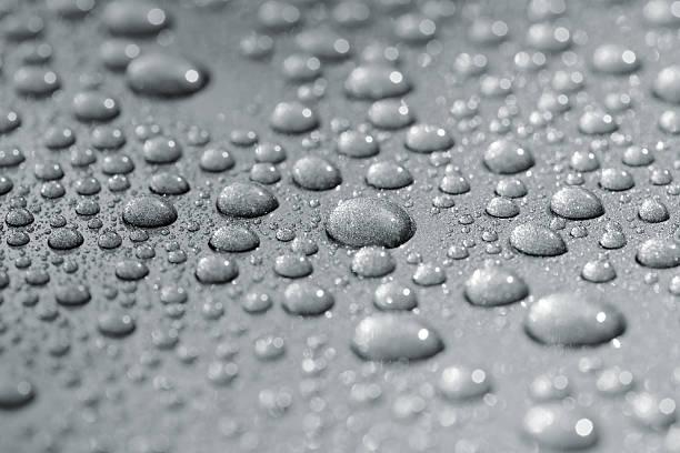 Droplets on car stok fotoğrafı