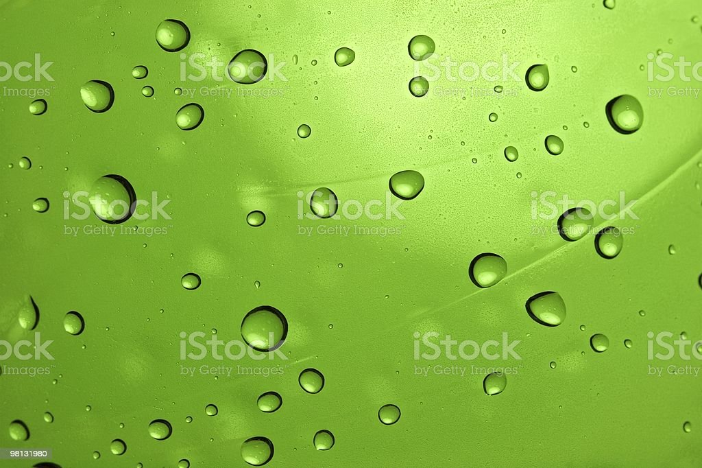 Droplets royalty-free stock photo