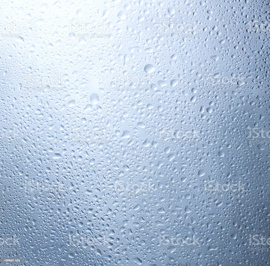 Drops of water. royalty-free stock photo