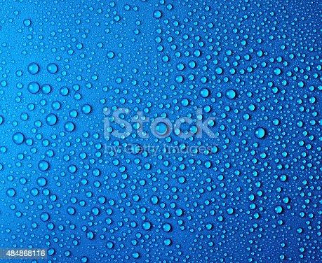istock Drops of water. 484868116