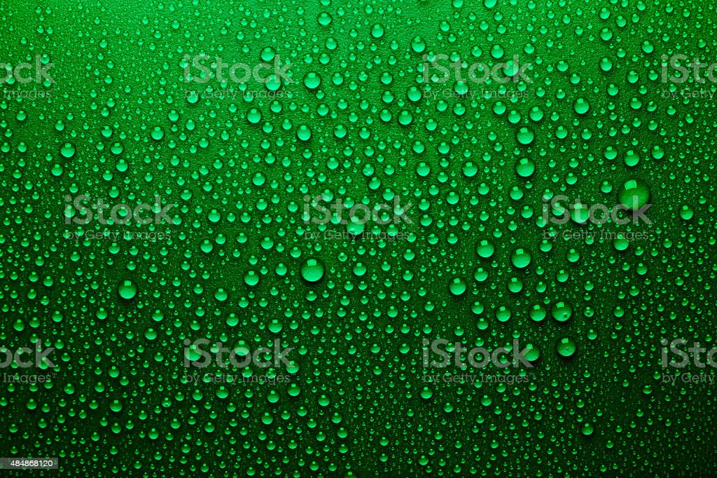 Drops of water. stock photo