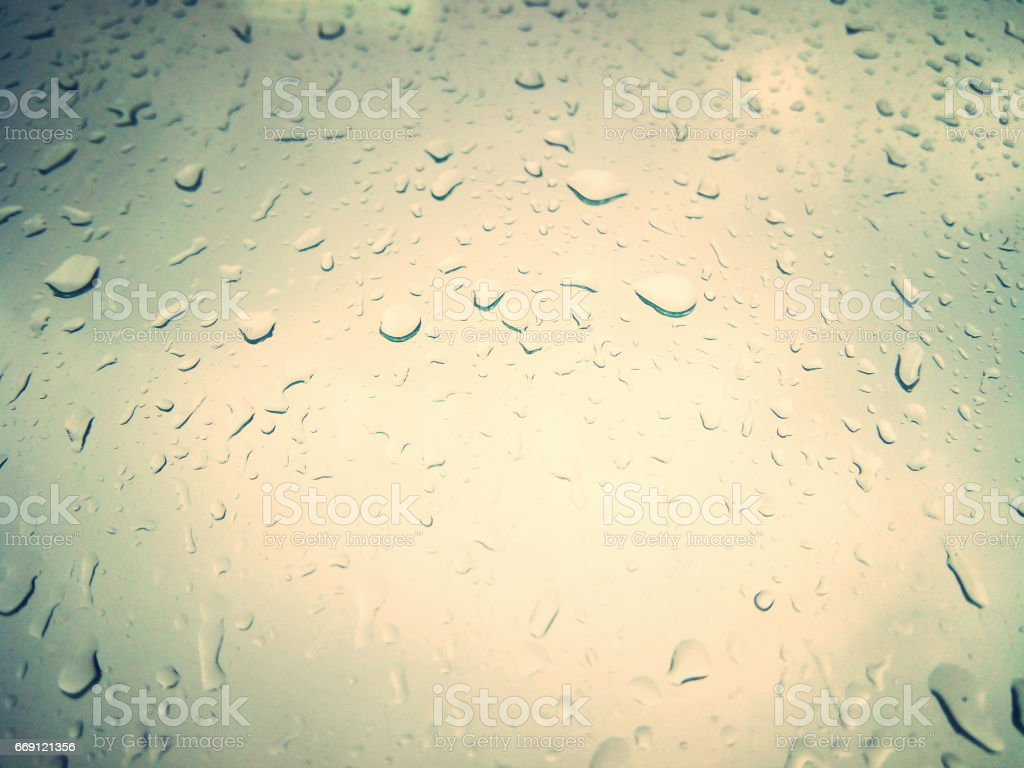 Drops on a light background. stock photo