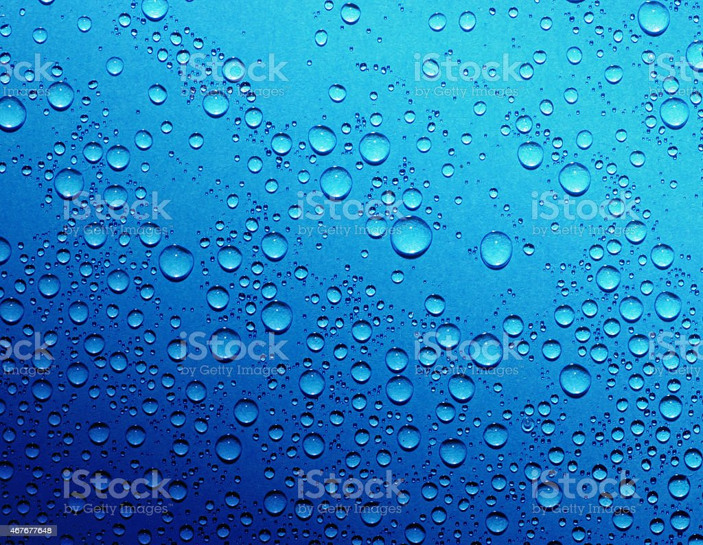 drops on glass stock photo