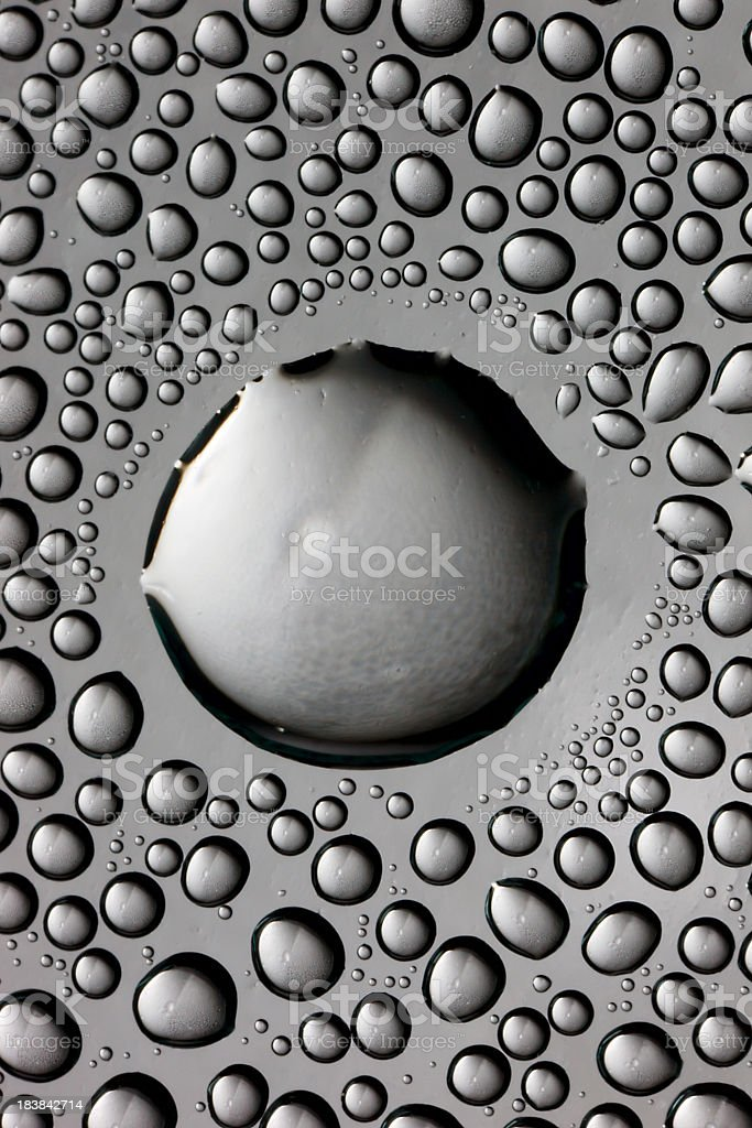 Drops royalty-free stock photo