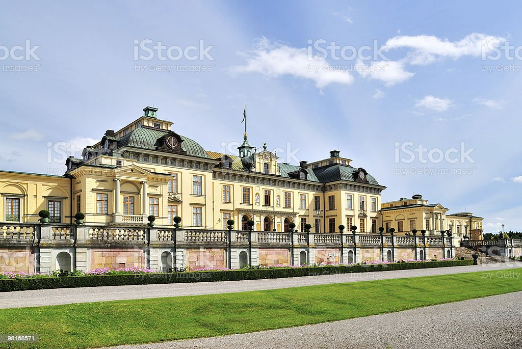 Drottningholm Palace royalty-free stock photo