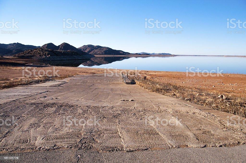 Drought in SW Oklahoma stock photo