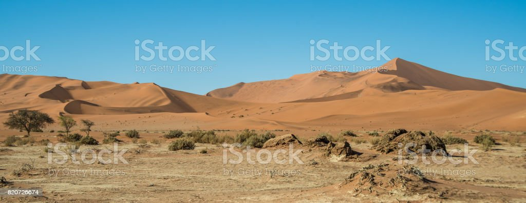 Drought near Big Daddy dune stock photo
