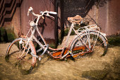 istock Drowned rusty bicycle 177019294