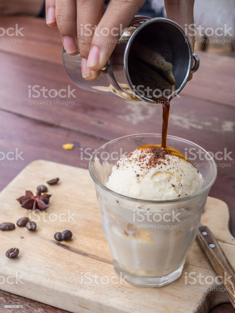 affogato-1 stock photo