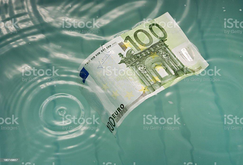 Drowning bill stock photo