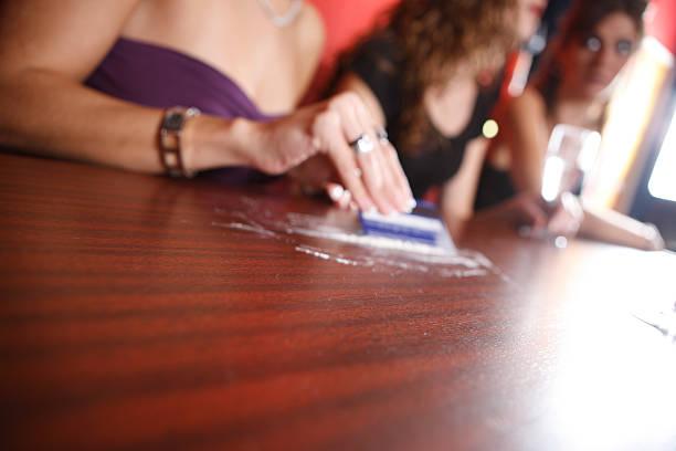 Drug Abuse Background stock photo