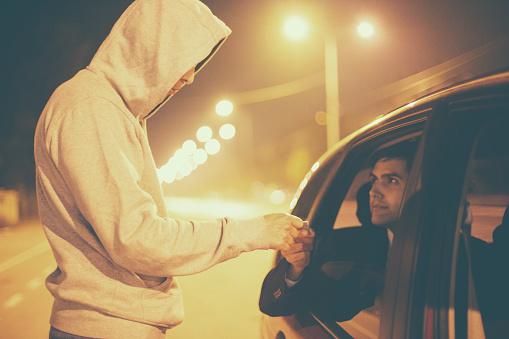 istock Drug abuse transaction 494094320