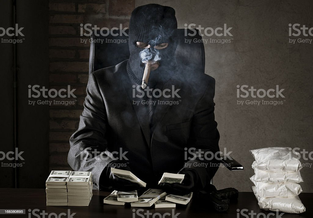 Drug dealer stock photo