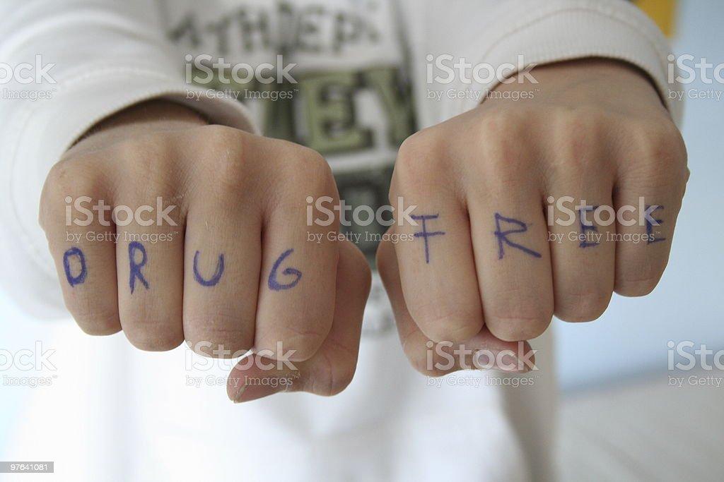 drug free royalty-free stock photo