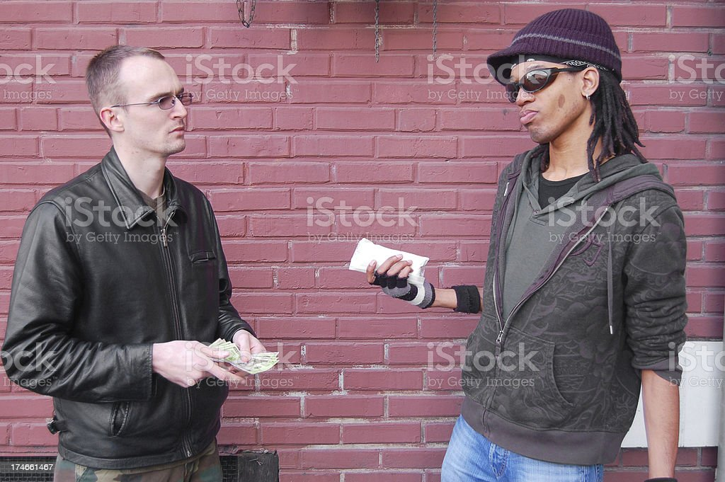 Drug Negotiations royalty-free stock photo