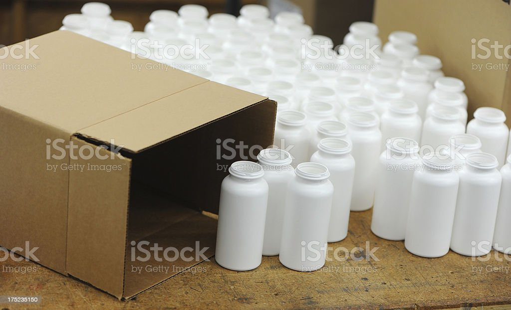 Drug packaging royalty-free stock photo