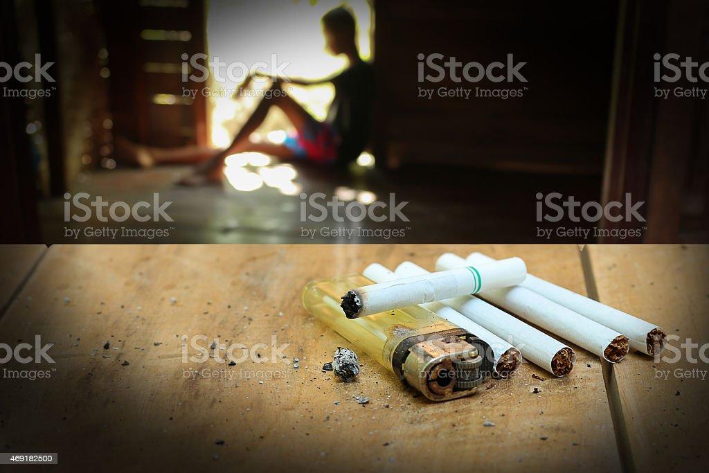 drug problems stock photo