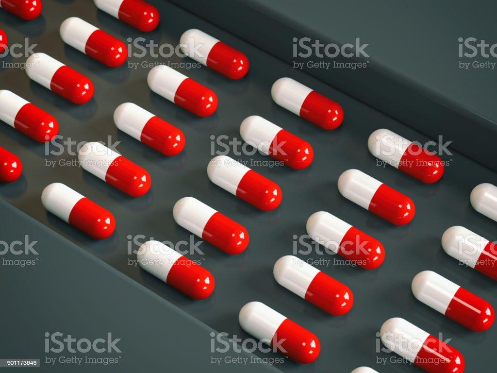 Der Drogenerzeugung – Foto