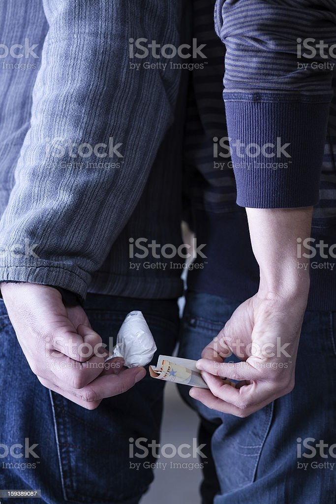 Drug Traffic stock photo