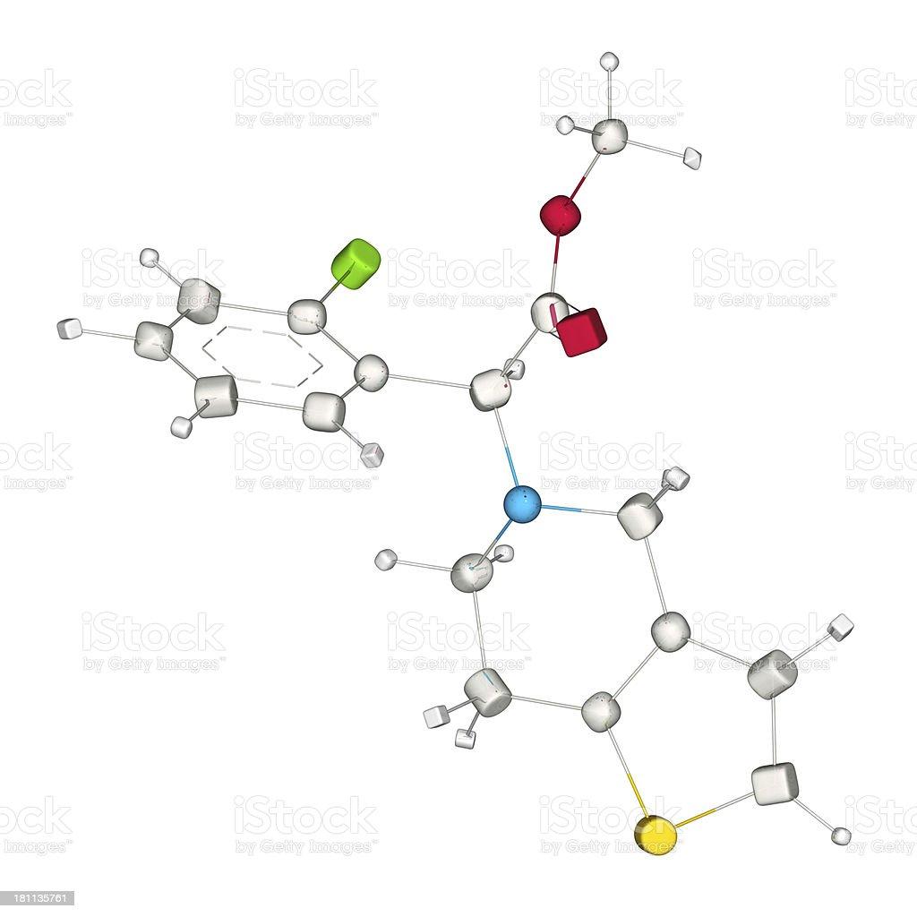 DrugModel: Clopidogrel stock photo