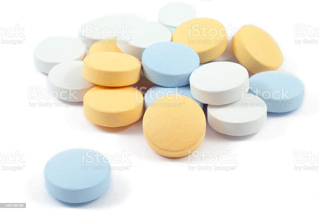 drugs and pills royalty-free stock photo