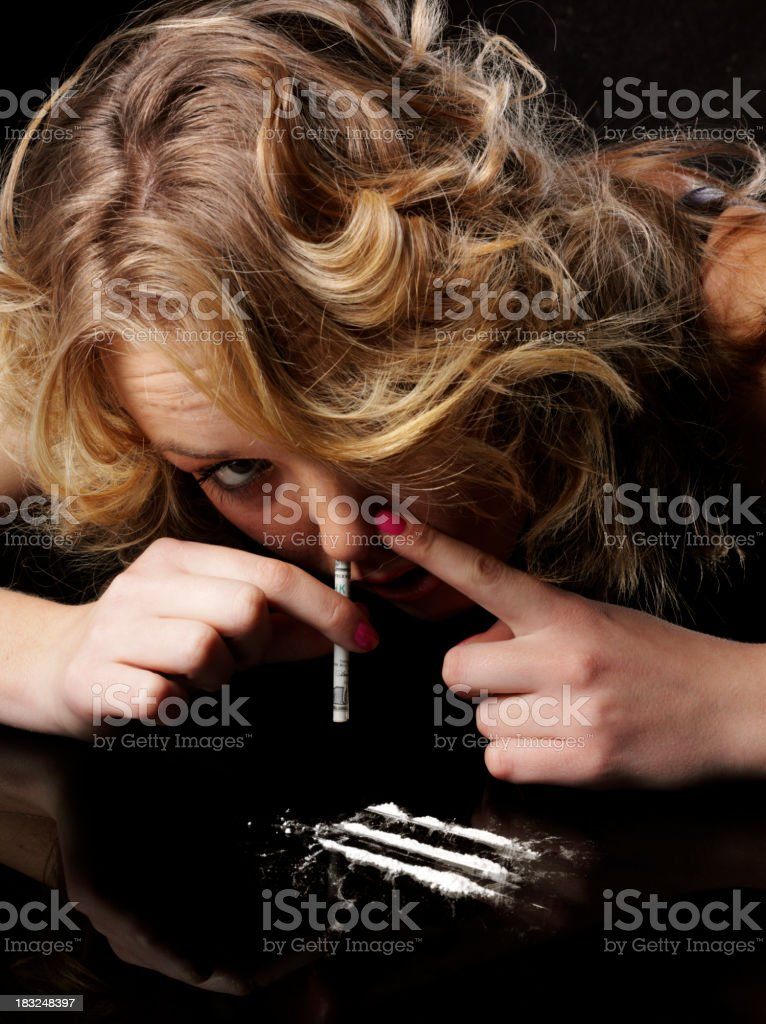 Drugs at a Party royalty-free stock photo