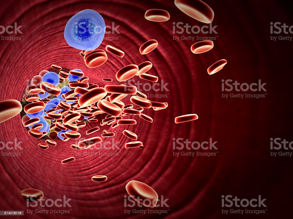 drugs in a blood stock photo