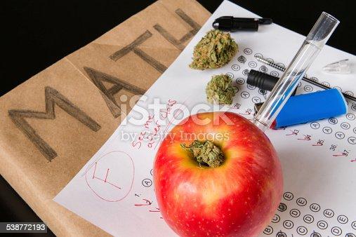 istock Drugs in School Concept 538772193