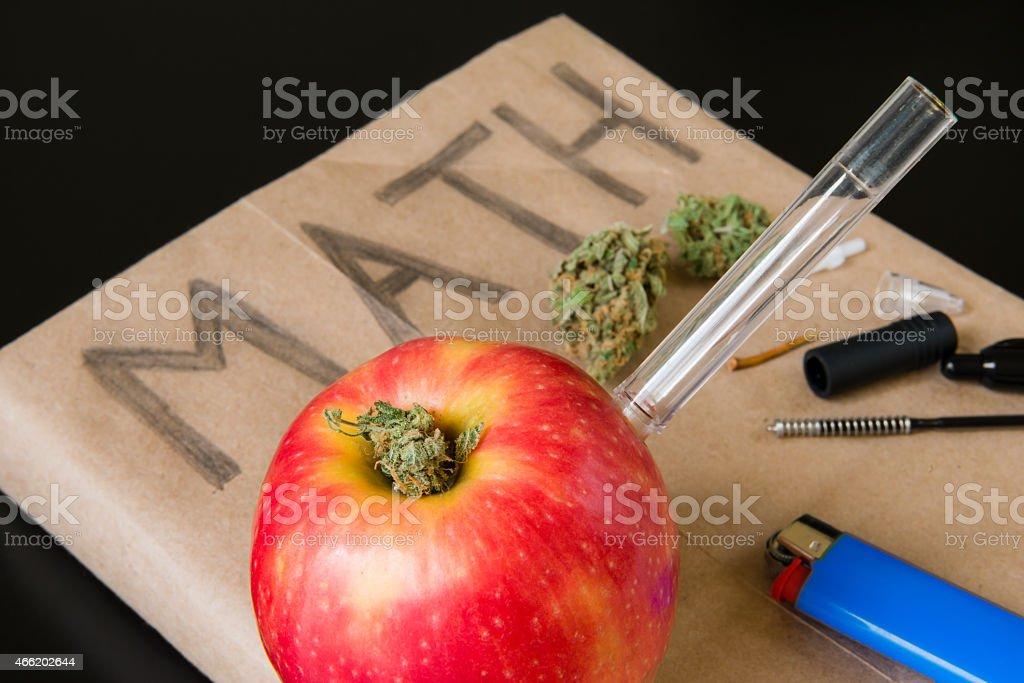 Drugs in School stock photo
