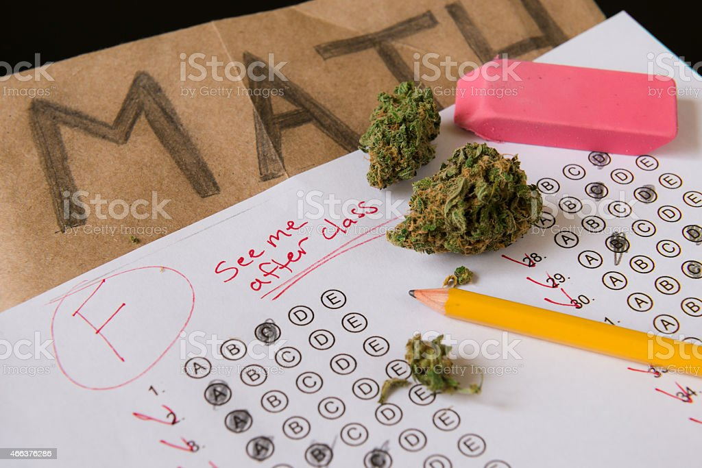 Drugs in School stock photo