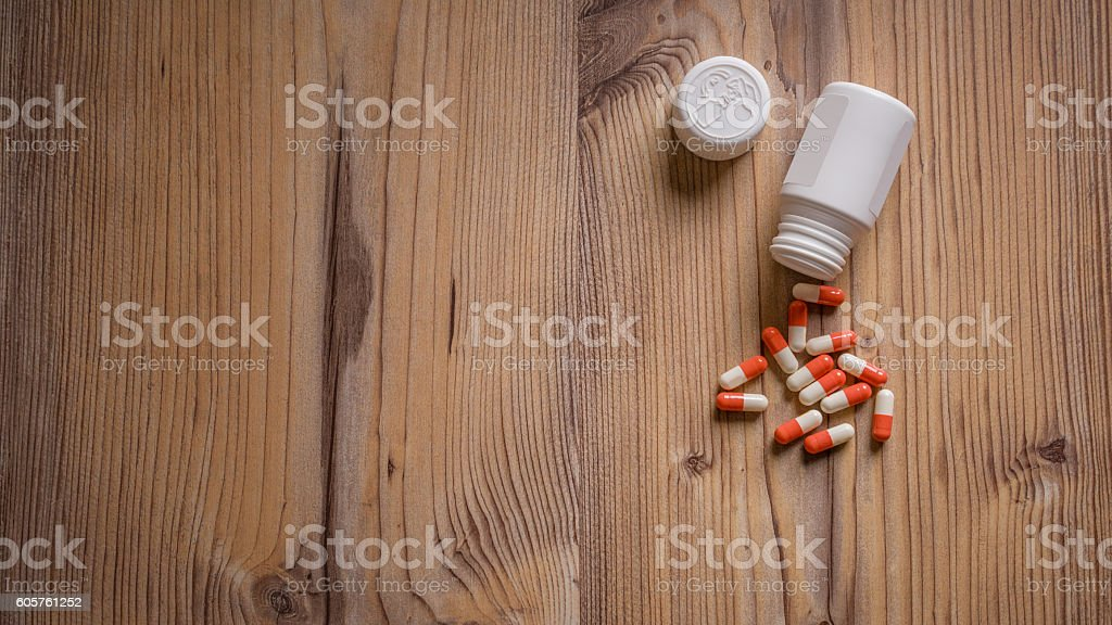 Drugs medication stock photo