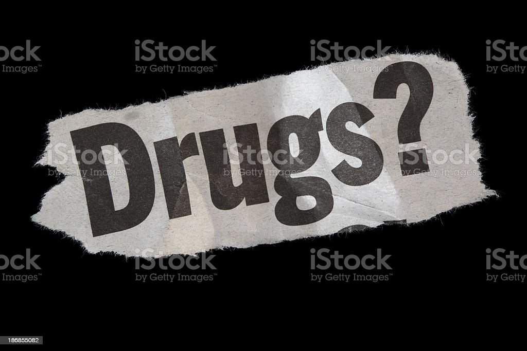 Drugs? royalty-free stock photo