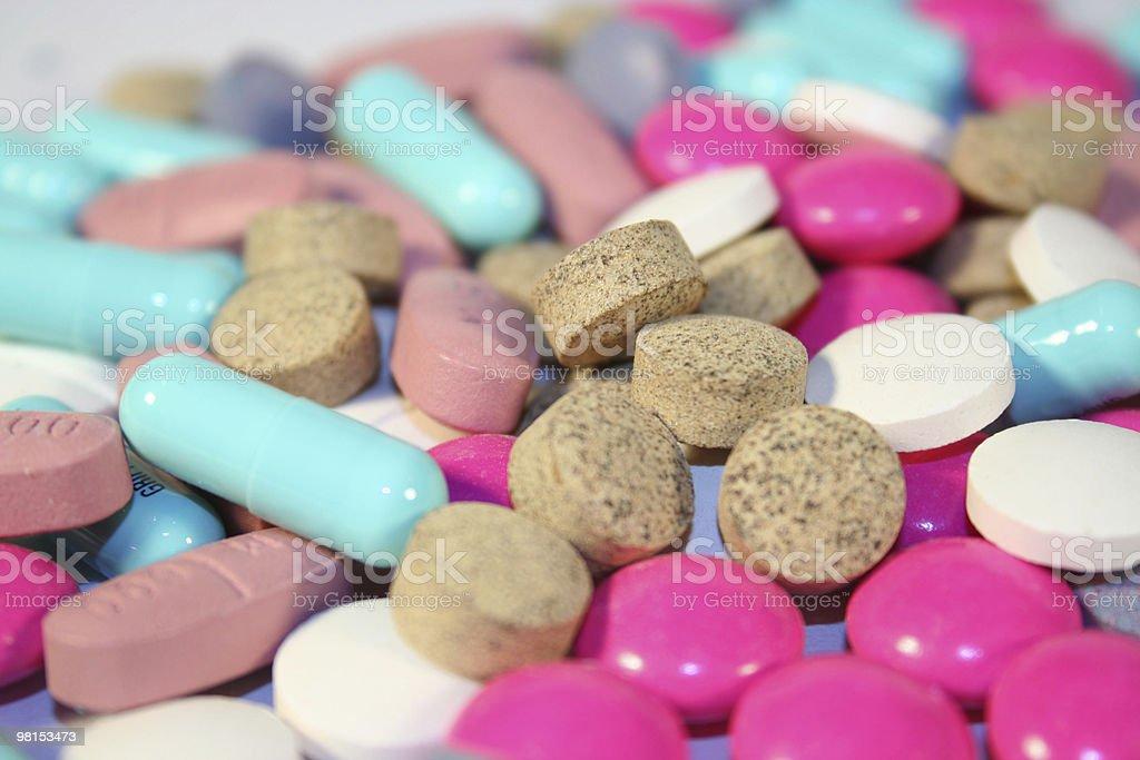 Drugs pills thrills royalty-free stock photo