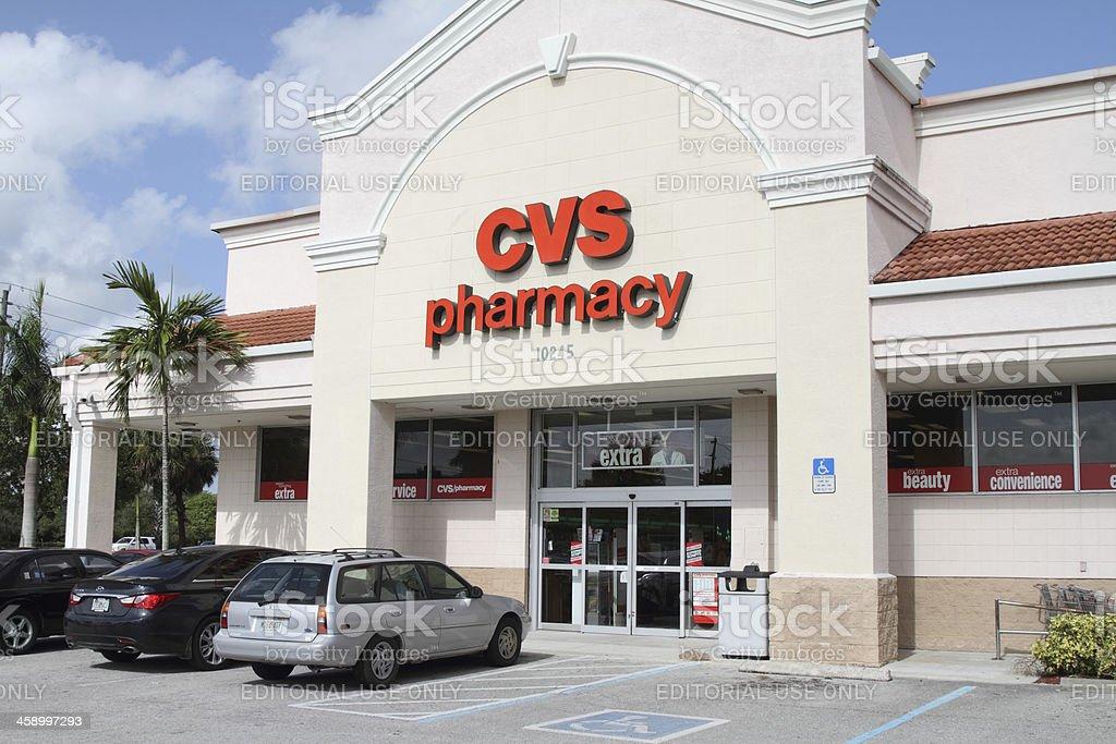 CVS Drugstore Pharmacy royalty-free stock photo