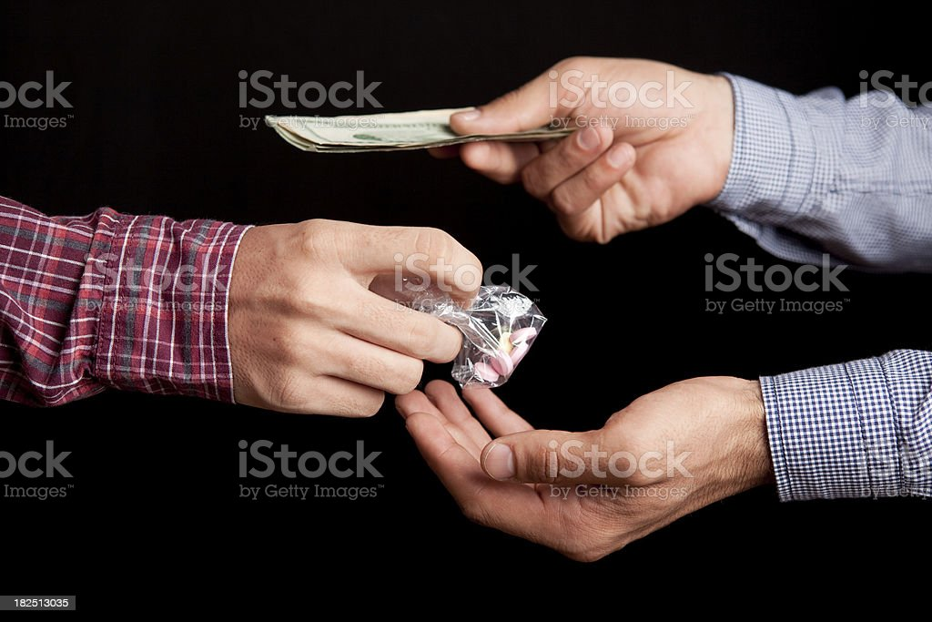 DrugTrade Series royalty-free stock photo