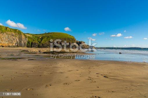 istock Druidston Haven, Pembrokeshire, Dyfed, Wales, UK 1136116636