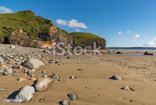 istock Druidston Haven, Pembrokeshire, Dyfed, Wales, UK 1136116638