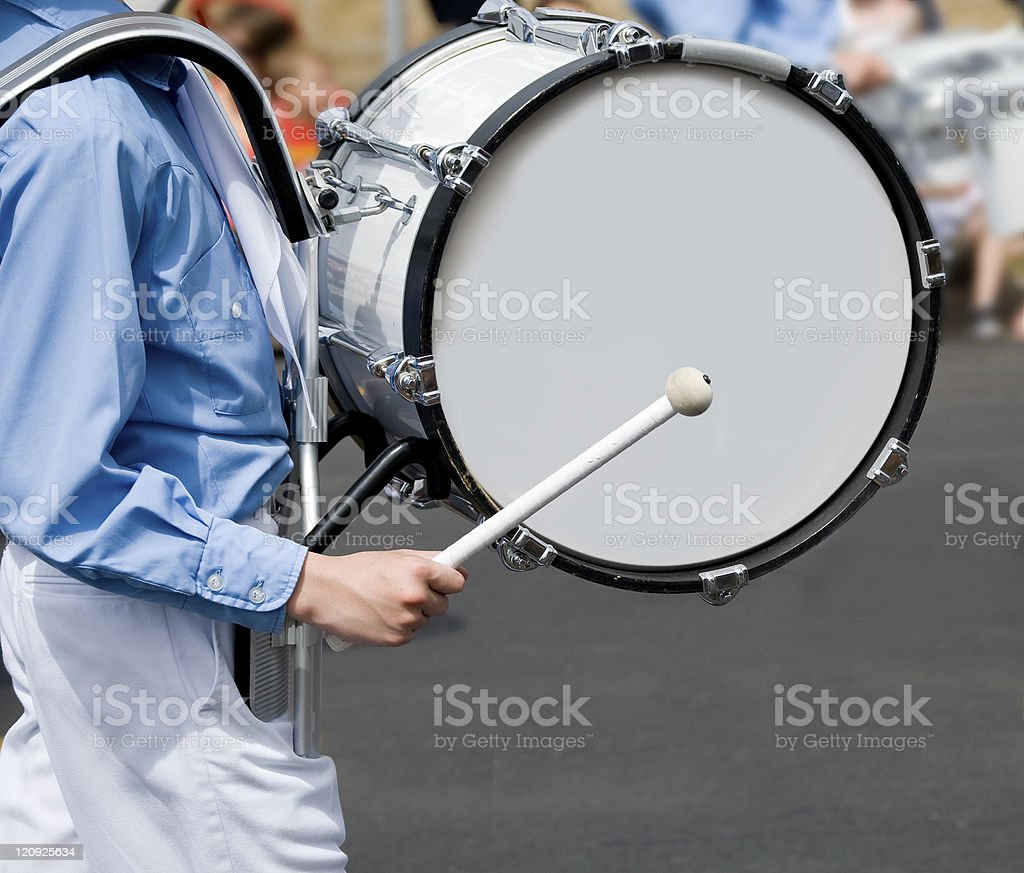 Drum and Marching Band royalty-free stock photo