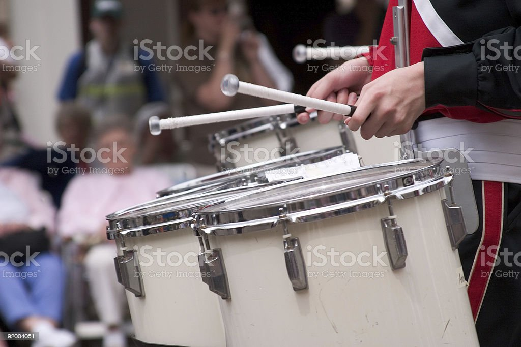 Drum Cadence stock photo