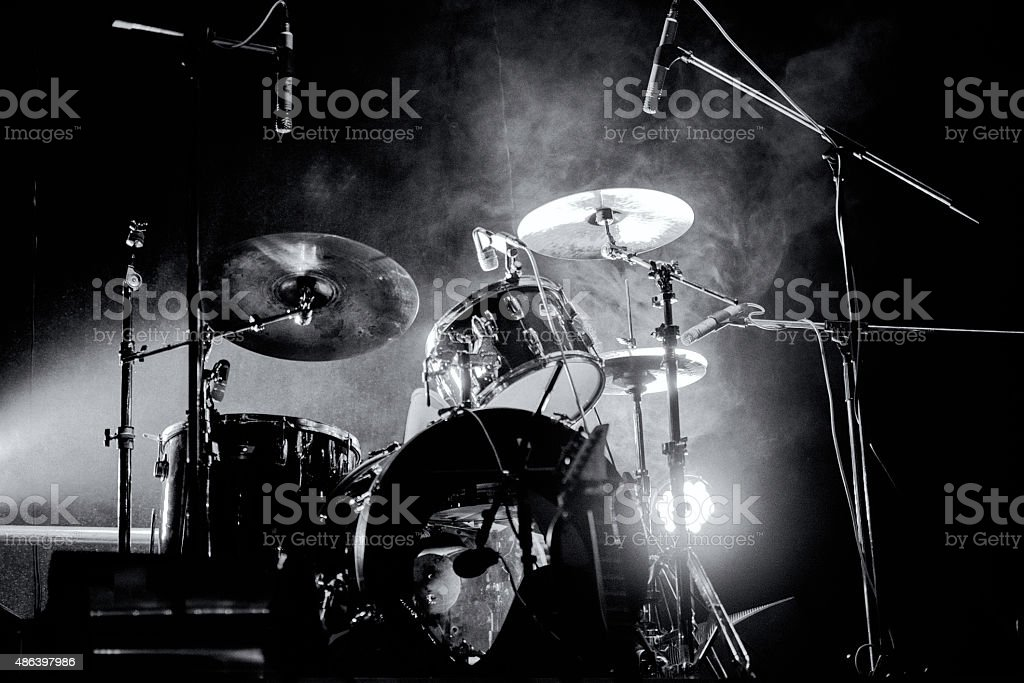 Drum кit stock photo